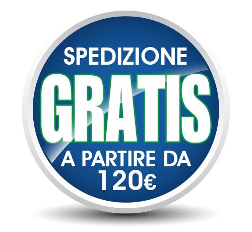 Spedizione gratis a partire da 120€